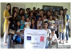 Child Help Foundation? visited Shelter Home in Nagaland