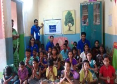 Team Odisha Child Help Foundation supporting kids of Ashraya Orphanage, Bhubaneswar, Odisha