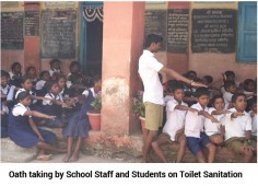 Event: Inauguration of School Toilet under Project SSWACH