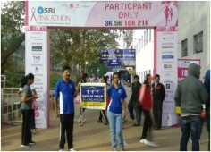 Pinkathon held at Bangalore on 22nd Feb, 2015.
