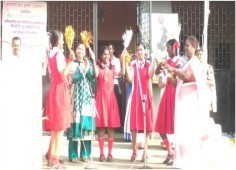 Republic day celebrated in Amcha Ghar Orphanage
