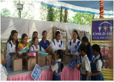 Child Help Foundation celebrated Republic Day  with all the little special champs at Goregaon school.