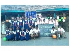 hild Help Foundation celebrated Republic Day at Kamal School