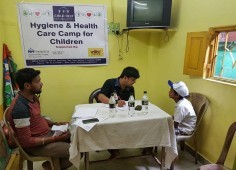 Hygiene and Health Camp at Kolkata